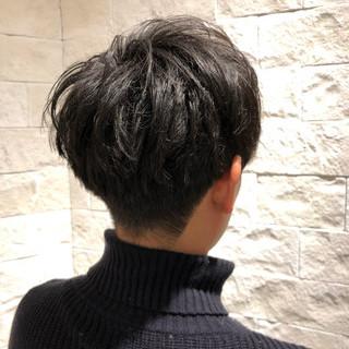 メンズマッシュ ショート ナチュラル メンズ ヘアスタイルや髪型の写真・画像
