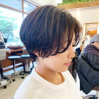 ショート ふんわりショート  ナチュラル ヘアスタイルや髪型の写真・画像