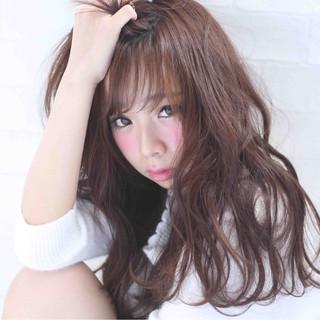 モテ髪 ふわふわ ロング 大人かわいい ヘアスタイルや髪型の写真・画像 ヘアスタイルや髪型の写真・画像