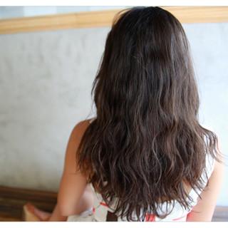 前髪あり 外国人風 暗髪 ヘアアレンジ ヘアスタイルや髪型の写真・画像