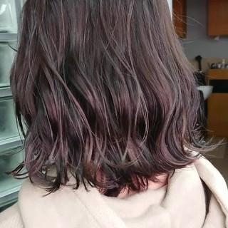 ミディアム ストリート 銀座美容室 ブリーチカラー ヘアスタイルや髪型の写真・画像