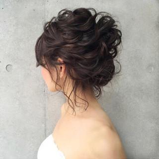 ヘアアレンジ 色気 大人かわいい フェミニン ヘアスタイルや髪型の写真・画像