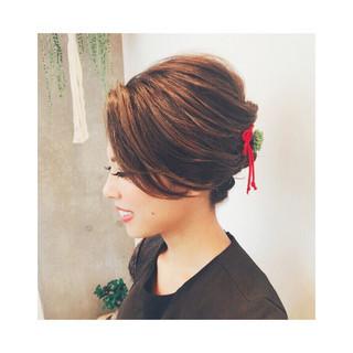 花火大会 色気 ロング 上品 ヘアスタイルや髪型の写真・画像 ヘアスタイルや髪型の写真・画像