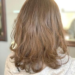 春 ナチュラル パーマ かわいい ヘアスタイルや髪型の写真・画像 ヘアスタイルや髪型の写真・画像