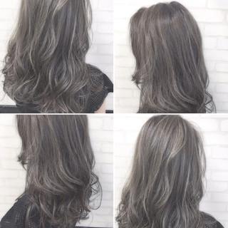 大人かわいい 暗髪 外国人風 ロング ヘアスタイルや髪型の写真・画像