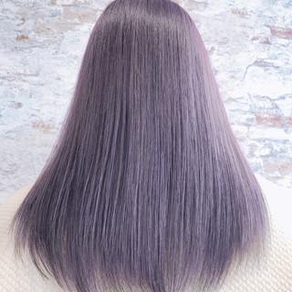 セミロング エレガント 艶髪 グラデーションカラー ヘアスタイルや髪型の写真・画像 ヘアスタイルや髪型の写真・画像