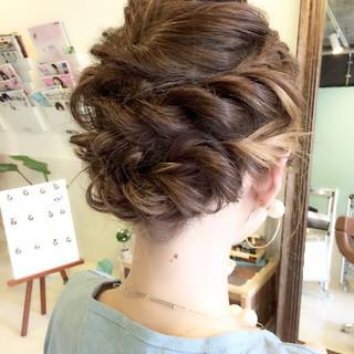 ヘアアレンジ 小顔 アウトドア 女子会 ヘアスタイルや髪型の写真・画像