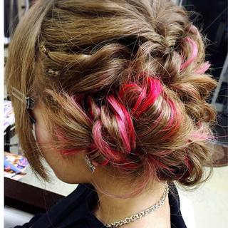 ヘアアレンジ ロング エクステ ヘアスタイルや髪型の写真・画像