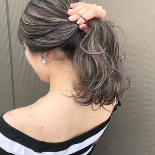 アッシュ 外国人風カラー ストリート 外国人風 ヘアスタイルや髪型の写真・画像