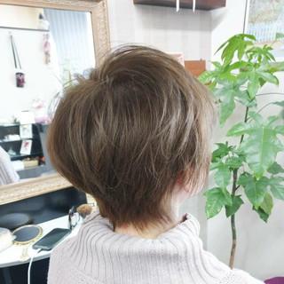 ショート コンサバ ベリーショート ヘアスタイルや髪型の写真・画像