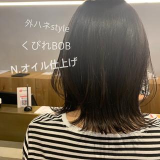 ナチュラル ミディアム お手入れ簡単!! レイヤースタイル ヘアスタイルや髪型の写真・画像