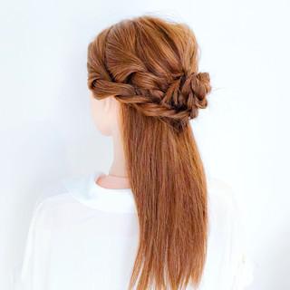 涼しげ ショート 夏 簡単ヘアアレンジ ヘアスタイルや髪型の写真・画像