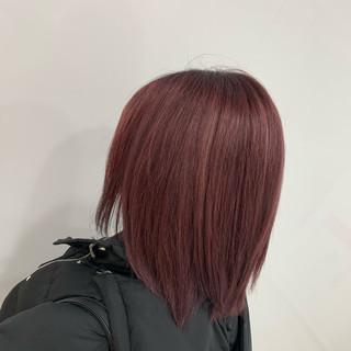 ブリーチ フェミニン ミディアム N.オイル ヘアスタイルや髪型の写真・画像