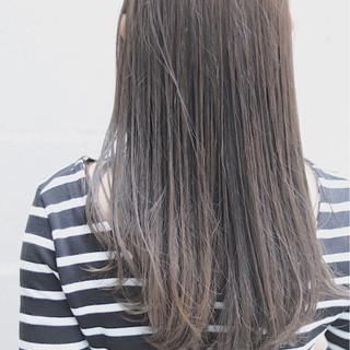 オルチャン ロング イルミナカラー デート ヘアスタイルや髪型の写真・画像