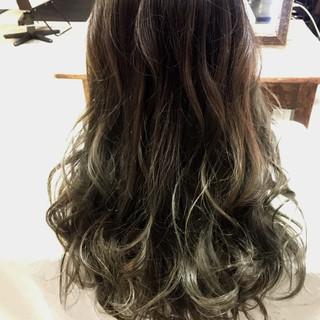ロング 冬 外国人風 秋 ヘアスタイルや髪型の写真・画像