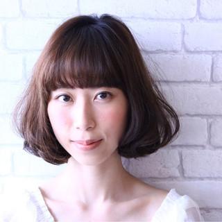 ゆるふわ 前髪あり 大人かわいい フェミニン ヘアスタイルや髪型の写真・画像