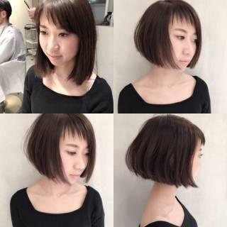 ストリート 暗髪 ショート ウェットヘア ヘアスタイルや髪型の写真・画像 ヘアスタイルや髪型の写真・画像