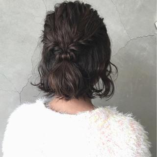 デート 結婚式 ヘアアレンジ ボブ ヘアスタイルや髪型の写真・画像 ヘアスタイルや髪型の写真・画像