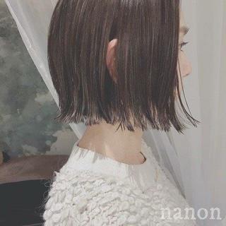 外ハネ ゆるふわ フェミニン 冬 ヘアスタイルや髪型の写真・画像