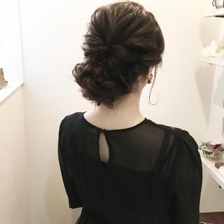 ナチュラル 結婚式 謝恩会 ロング ヘアスタイルや髪型の写真・画像