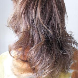 外国人風 ロング 透明感 ナチュラル ヘアスタイルや髪型の写真・画像