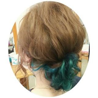ルーズ ミディアム ゆるふわ 大人かわいい ヘアスタイルや髪型の写真・画像