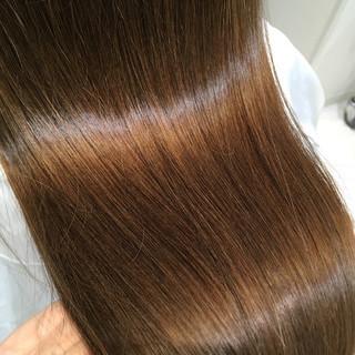ナチュラル ストレート トリートメント ロング ヘアスタイルや髪型の写真・画像 ヘアスタイルや髪型の写真・画像