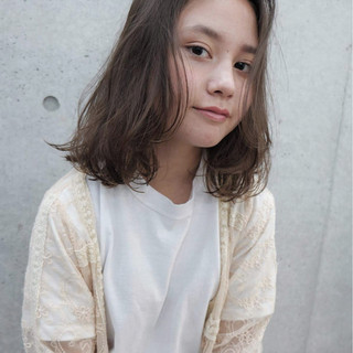 グラデーションカラー ショート ミディアム 外国人風 ヘアスタイルや髪型の写真・画像