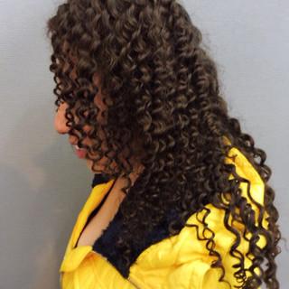 ツイスト 黒髪 ストリート ロング ヘアスタイルや髪型の写真・画像 ヘアスタイルや髪型の写真・画像