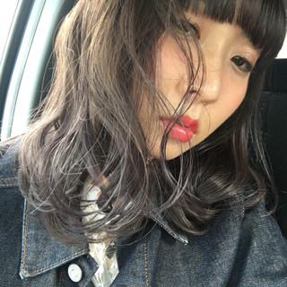 アンニュイ デート 梅雨 ナチュラル ヘアスタイルや髪型の写真・画像