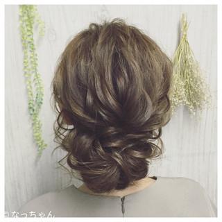 パーティ ロング お呼ばれ 結婚式 ヘアスタイルや髪型の写真・画像