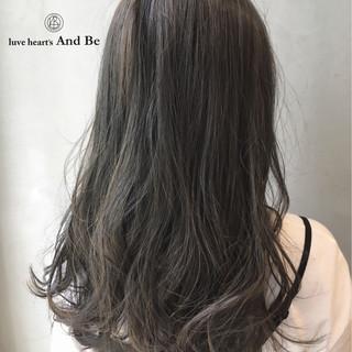 グラデーションカラー 暗髪 ハイライト ロング ヘアスタイルや髪型の写真・画像