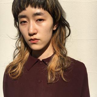 レイヤー ロング レイヤーロングヘア ハイライト ヘアスタイルや髪型の写真・画像 ヘアスタイルや髪型の写真・画像
