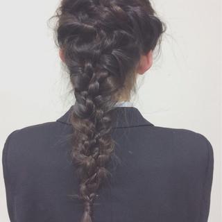 ゆるふわ 大人かわいい 結婚式 編み込み ヘアスタイルや髪型の写真・画像 ヘアスタイルや髪型の写真・画像