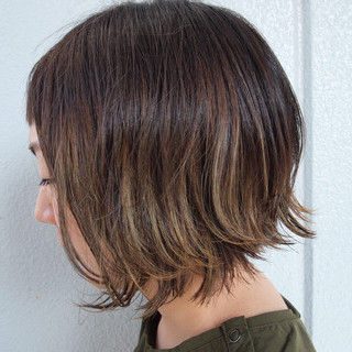 デート 大人かわいい ナチュラル ナチュラルグラデーション ヘアスタイルや髪型の写真・画像
