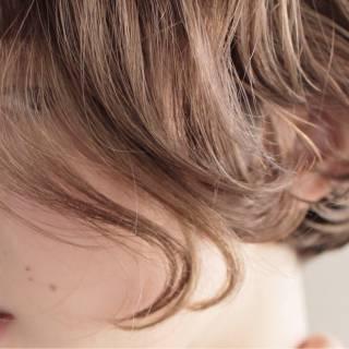 外国人風 束感 ボブ ストリート ヘアスタイルや髪型の写真・画像
