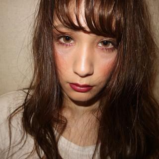 透明感 アッシュ フェミニン サロンモデル ヘアスタイルや髪型の写真・画像