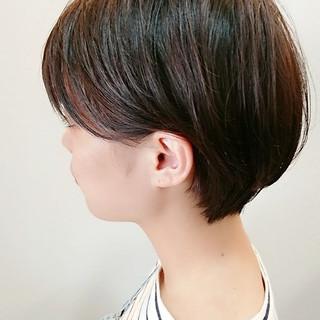 末平智恵さんのヘアスナップ