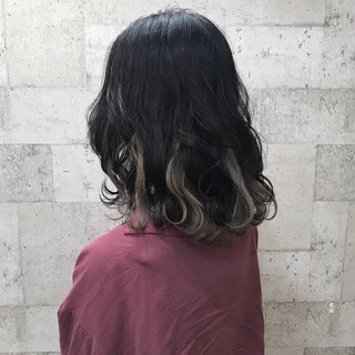 外国人風 ミディアム 上品 外国人風カラー ヘアスタイルや髪型の写真・画像 ヘアスタイルや髪型の写真・画像