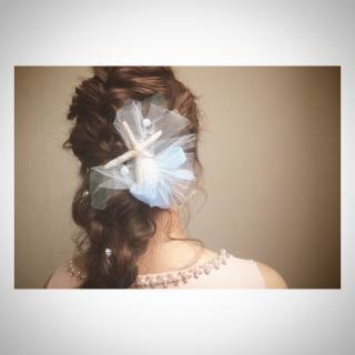 コンサバ ヘアアレンジ モテ髪 結婚式 ヘアスタイルや髪型の写真・画像