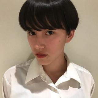 束感 前髪パーマ ナチュラル 束感バング ヘアスタイルや髪型の写真・画像