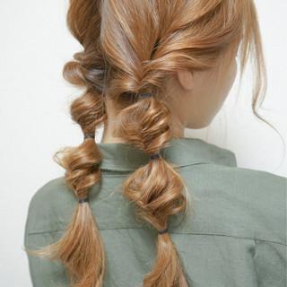 ミディアム ロング 夏 ナチュラル ヘアスタイルや髪型の写真・画像