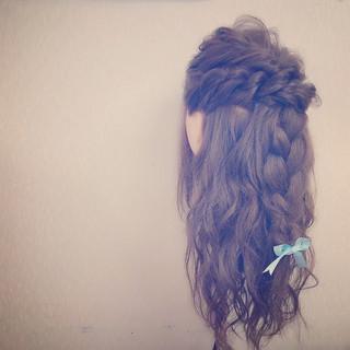 ロング ゆるふわ フェミニン 大人かわいい ヘアスタイルや髪型の写真・画像