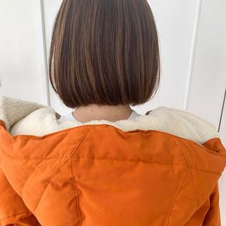 ボブヘアー ナチュラル可愛い 大人女子 ナチュラル ヘアスタイルや髪型の写真・画像