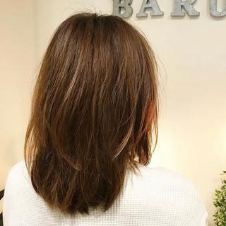 春スタイル サラサラ モード ミディアム ヘアスタイルや髪型の写真・画像 ヘアスタイルや髪型の写真・画像
