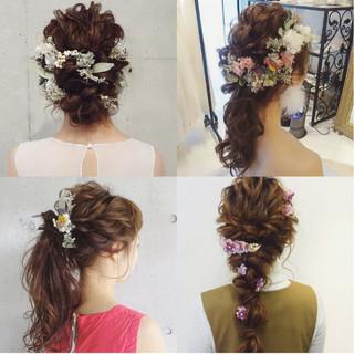 上品 結婚式 大人女子 大人かわいい ヘアスタイルや髪型の写真・画像