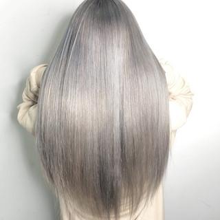 透明感 トレンド 外国人風カラー ヘアアレンジ ヘアスタイルや髪型の写真・画像