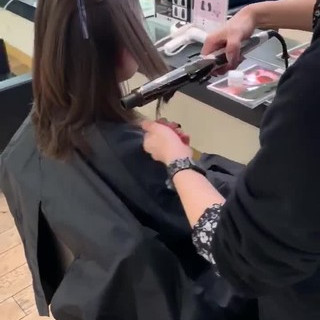 ゆるふわ ウルフカット アンニュイほつれヘア ミディアム ヘアスタイルや髪型の写真・画像
