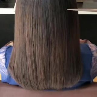 美髪 トリートメント 髪の病院 ナチュラル ヘアスタイルや髪型の写真・画像