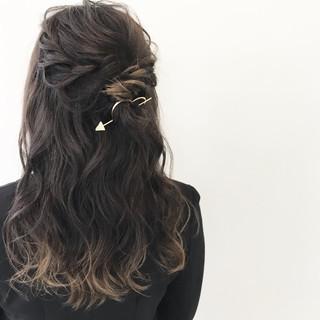 夏 色気 秋 ヘアアレンジ ヘアスタイルや髪型の写真・画像